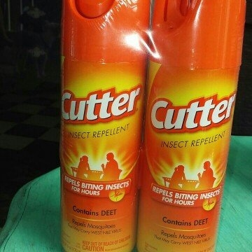 Cutter Unscented Insect Repellent Aerosol, 6-Ounce, 2-Pack uploaded by Lindsay H.