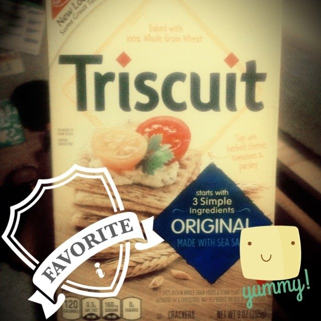 Nabisco® Triscuit Original Crackers uploaded by Lila T.