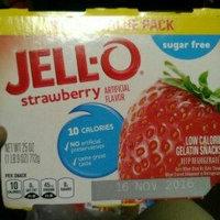 JELL-O Strawberry Low Calorie Gelatin Snacks uploaded by Jazmine S.