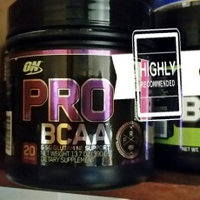 Optimum Nutrition PRO BCAA & Glutamine Support Raspberry Lemonade 20 Servings uploaded by Erica R.