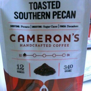 Photo of Cameron's Toasted Southern Pecan Ground Coffee-12 oz-Ground uploaded by Desere C.
