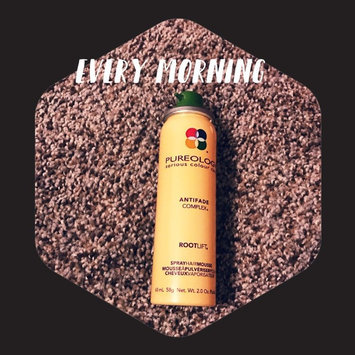 Photo of Pureology Colour Stylist™ Root Lift Spray Hair Mousse uploaded by Perla C.