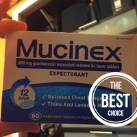 Mucinex Expectorant uploaded by Chelsi L.