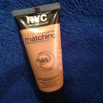 Photo of New York Color Skin Matching Foundation 685 Fair 1 fl oz Natural uploaded by Yomaira V.