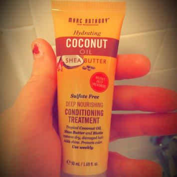 Photo of Marc Anthony True Professional Hydrating Coconut Oil & Shea Butter Deep Nourishing Conditioning Treatment, 1.69 fl oz uploaded by Whitney C.