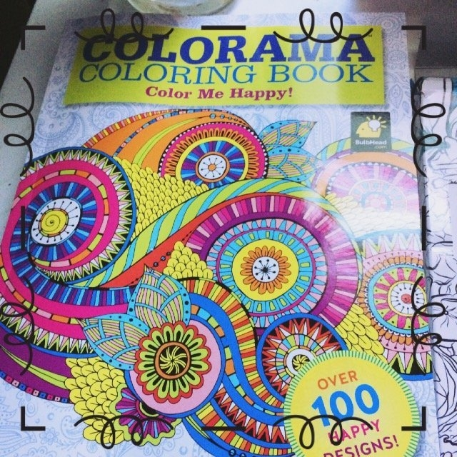 Colorama Coloring Book: Flowers, Paisleys, Stained Glass and More uploaded by Kimmye L.