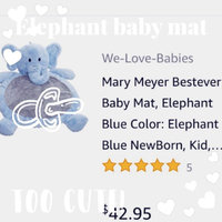 Bestever Elephant Baby Mat- Blue uploaded by Cherish V.