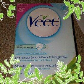 Veet Facial Kit Sensitive Formula 2 x 1.7 oz., 6-Pack uploaded by lisa r.