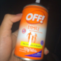 OFF Active Insect Repellant Aerosol 6oz uploaded by Federica C.