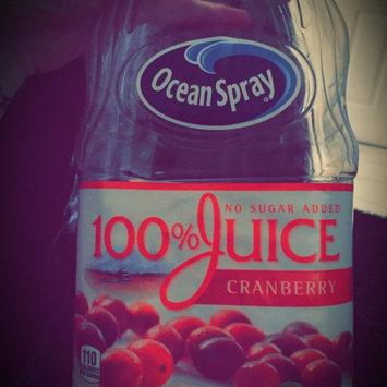 Photo of Ocean Spray 100% Juice Cranberry uploaded by Nancy C.