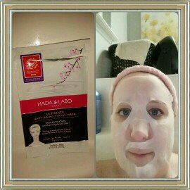 Hada Labo Tokyo Ultimate Anti-Aging Facial Mask, .7 fl oz uploaded by Holly R.