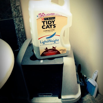 Photo of Purina Tidy Cats Tidy Cats LightWeight 24/7 Performance Scoop Litter Jug - 8.5lb uploaded by Anne V.
