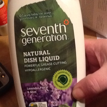 Seventh Generation Natural Dish Liquid Lavender, Floral & Mint uploaded by Suzy Z.