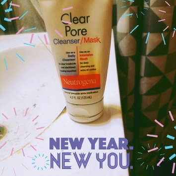 Photo of Neutrogena®  Clear Pore Cleanser/Mask uploaded by Paulina h.