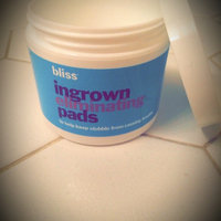 Bliss Ingrown Hair Eliminating Peeling Pads 50pads uploaded by Kimberly C.
