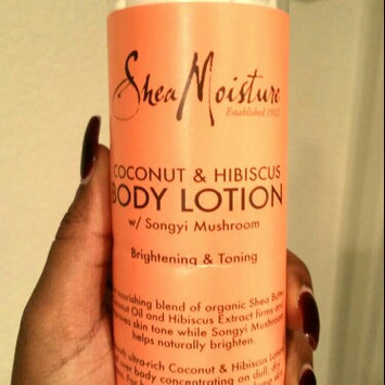 SheaMoisture Coconut & Hibiscus Body Lotion uploaded by Janay F.