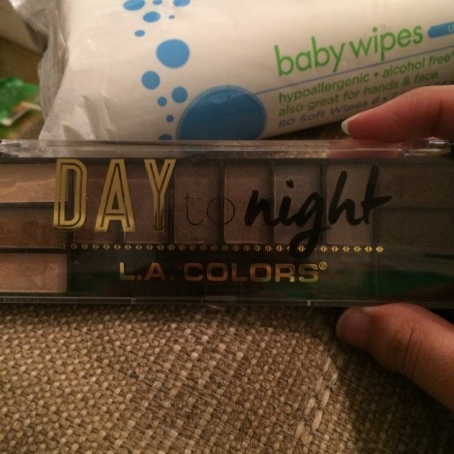 L.A. Colors Day To Night Eyeshadow Palette uploaded by Joni G.