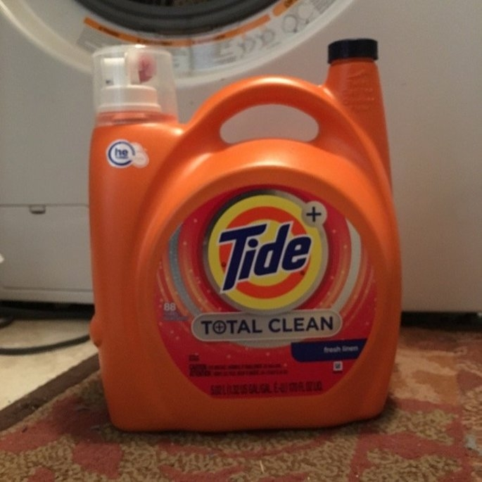 Tide Liquid HE Total Clean (88 Loads, 170 oz.) uploaded by Brandie G.