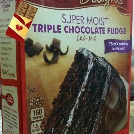 Photo of Betty Crocker™ Super Moist™ Delights Triple Chocolate Fudge Cake Mix uploaded by Kerin G.