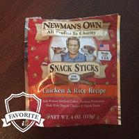 Newman's Own Organics Snack Sticks Chicken & Rice Recipe Dog uploaded by Halszka K.