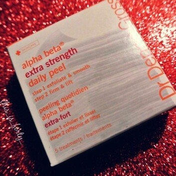 Dr. Dennis Gross Skincare Extra Strength Alpha Beta Daily Face Peel, 60 Applications uploaded by Terah A.
