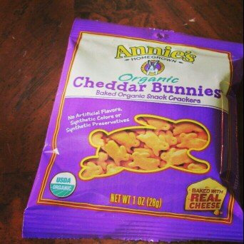 Annie's Homegrown® Organic Cheddar Bunnies® Baked Snack Crackers uploaded by Ashley-Rahne M.