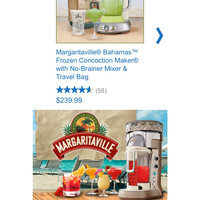 Margaritaville Frozen Concoction Maker - Key West (DM1000) uploaded by Kimberly T.
