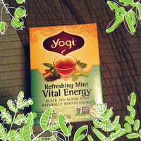 Yogi Tea Refreshing Mint Vital Energy uploaded by Raven S.