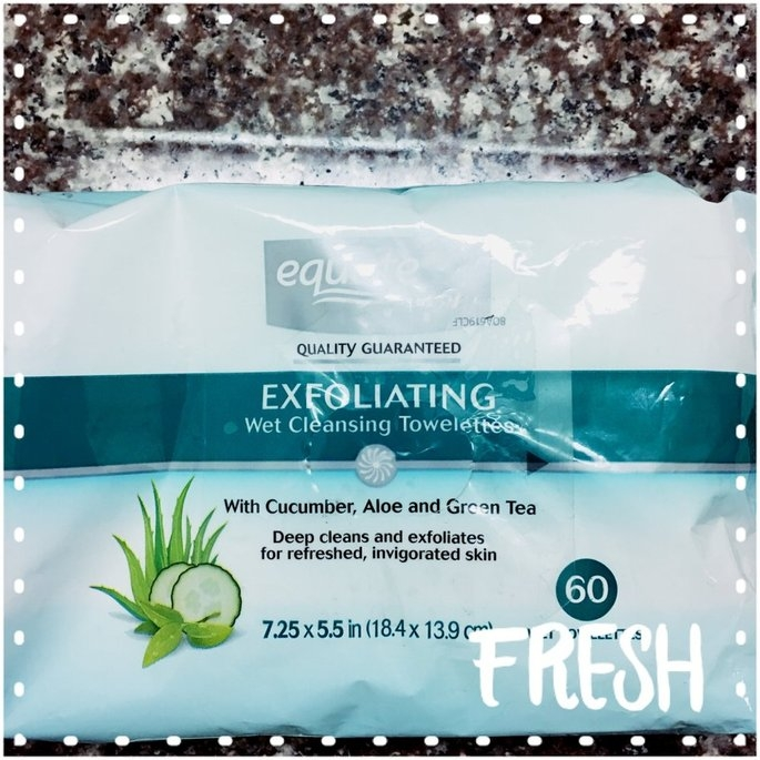 Equate - Facial Cleansing Towelettes, 60 Wet Towelettes(Compare to Ponds Clean Sweep) uploaded by Mackenzie L.
