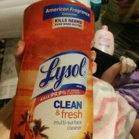 Lysol Clean & Fresh Multi-Surface Cleaner, Pourable Hawaii Sunset, 48 Oz uploaded by Amber G.