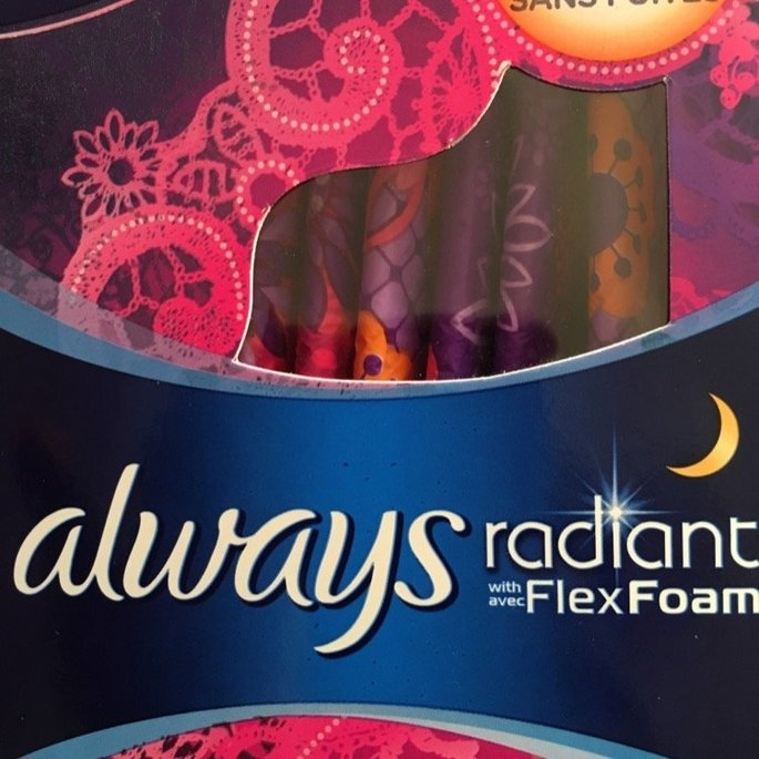 Always Radiant Infinity Pads with Flexi-Wings uploaded by Marlinda R.
