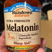 Sundown Naturals Melatonin 5mg Extra Strength uploaded by Shannon G.