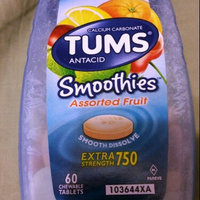 Tums Smoothies Antacid Calcium Supplement uploaded by Tonya P.