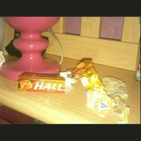 Photo of HALLS Honey Lemon Cough Menthol Drops uploaded by Lyndsay H.