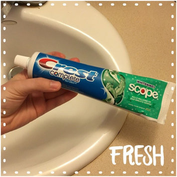 Photo of Crest Complete Whitening Plus Scope Minty Fresh Toothpaste Triple Pack 18.6 oz. Carton uploaded by Mallory C.
