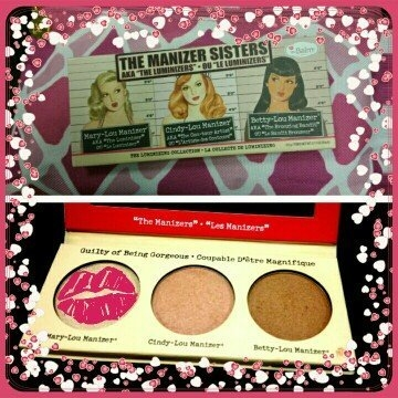 the Balm - the Manizer Sisters Luminizers Palette uploaded by Christie L.
