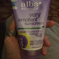 Alba Botanica Very Emollient Sunblock Organic Lavender uploaded by Molly G.