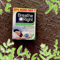 Breathe Right® Extra Clear Nasal Strips uploaded by Carly W.