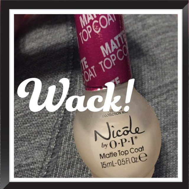 Nicole Miller Nicole by OPI Matte Top Coat uploaded by Stacy S.