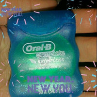Oral-B Complete Satin Floss Mint 55 yd Carded Pack uploaded by Danielle G.
