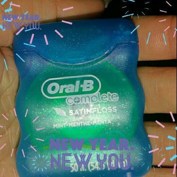 Photo of Oral-B Complete Satin Floss Mint 55 yd Carded Pack uploaded by Danielle G.
