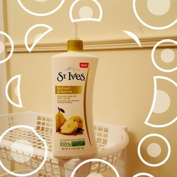 Photo of NEW St. Ives® Refresh & Revive Pear Nectar & Soy Body Lotion uploaded by Allison D.