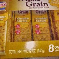 Lance® Whole Grain Cheddar Cheese Cracker Sandwiches 12 oz. Box uploaded by Teresa D.