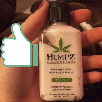 Hempz Hydrosilk Herbal Moisturizer uploaded by Bailey H.