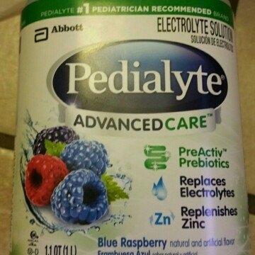 Pedialyte AdvancedCare, Blue Raspberry, 1 L uploaded by Daniela R.
