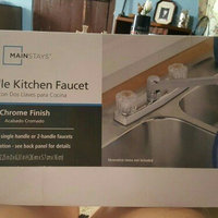 BrassCraft Two-Handle Kitchen Faucet uploaded by Faith M.