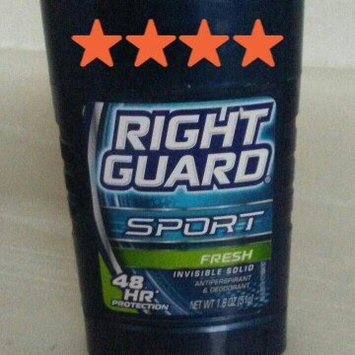 Photo of Right Guard Sport Anti-Perspirant and Deodorant Solid Fresh uploaded by Sarah C.