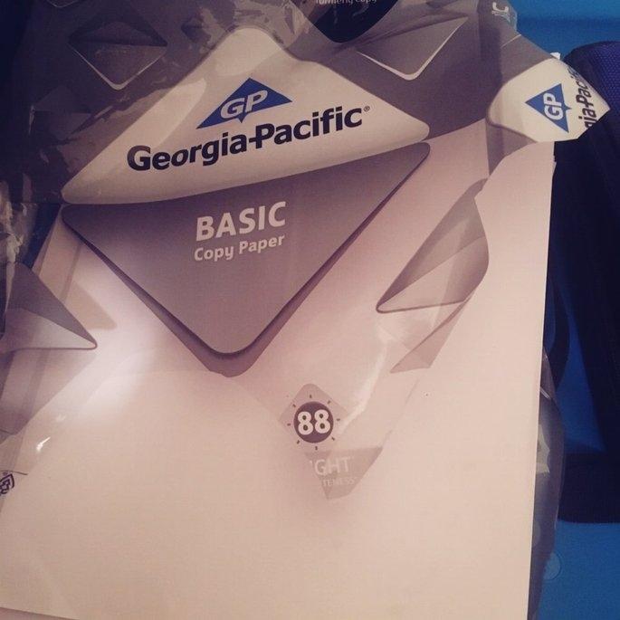 Georgia Pacific Copy Paper - GEORGIA-PACIFIC CORPORATION uploaded by Teran F.