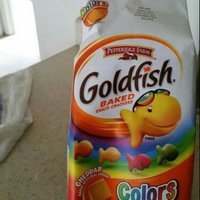 Goldfish® Cheddar Baked Snack Crackers Made With Whole Grain uploaded by erika o.