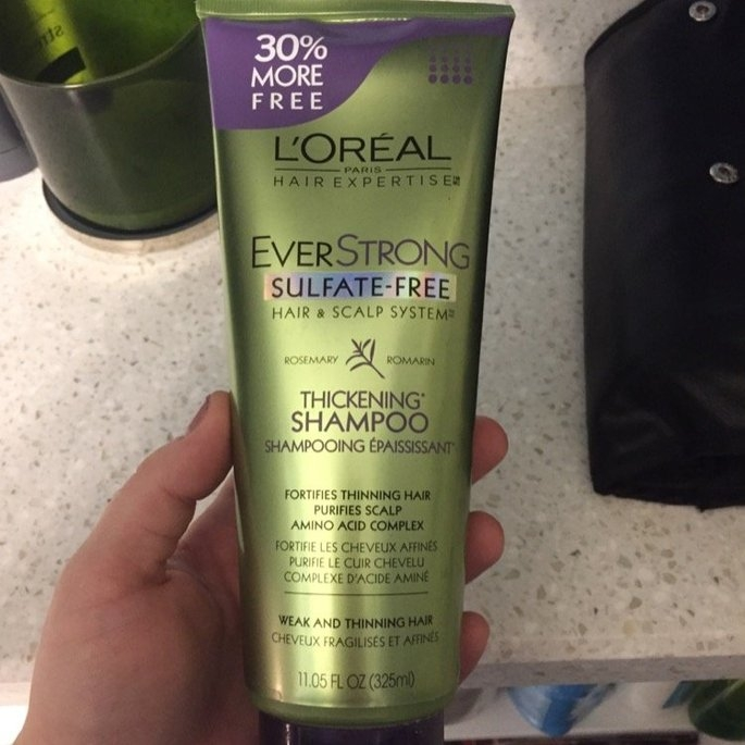 L'Oréal Paris EverStrong Thickening Shampoo uploaded by Bekah R.